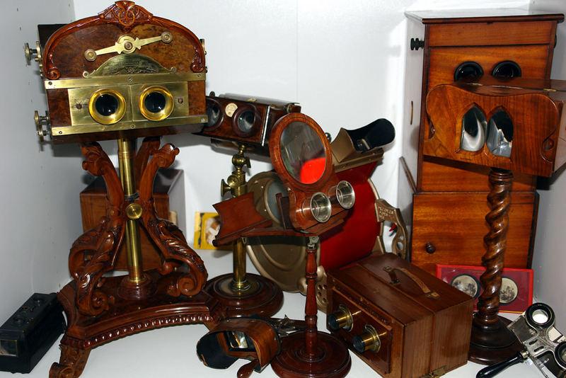 Stereoskopische Betrachtungsgeräte