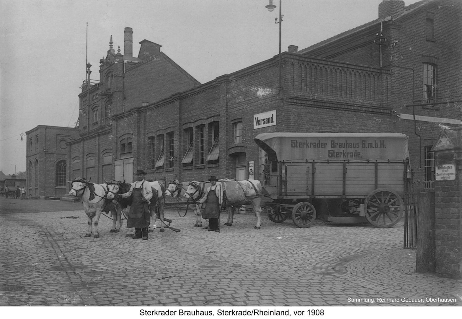 Sterkrade, Sterkrader Brauhaus, vor 1908