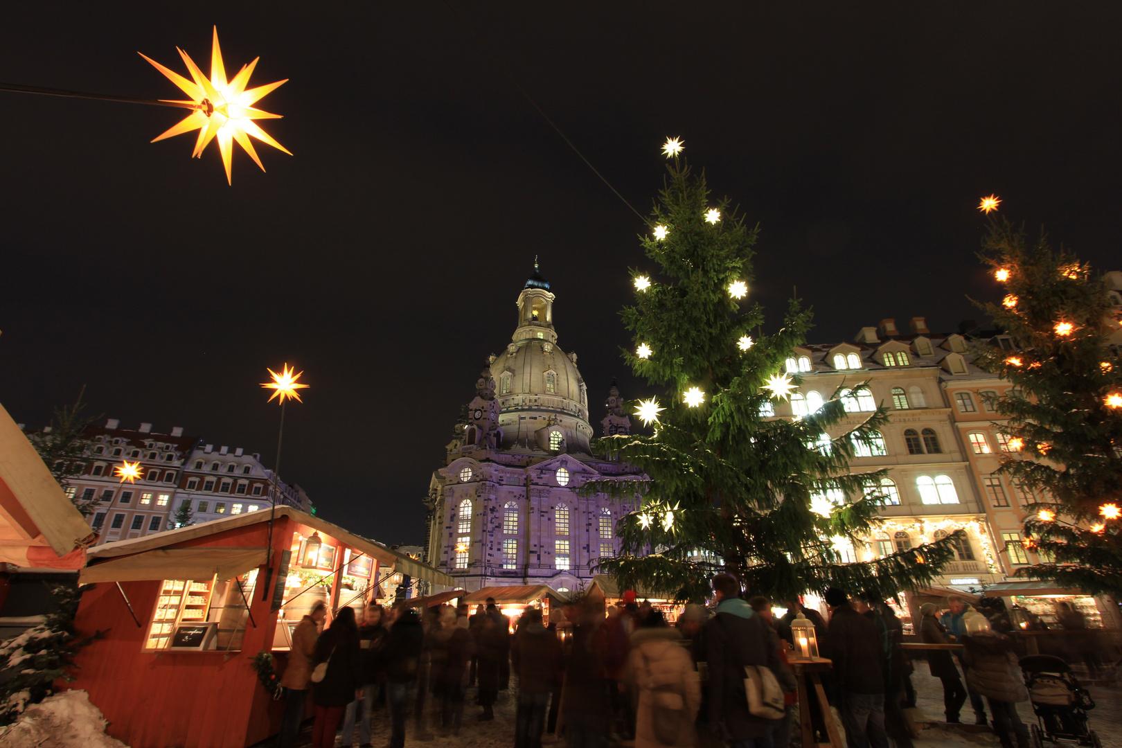 Stern von Bethlehem über Dresden