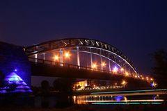 Sternbrücke bei Nacht - modified