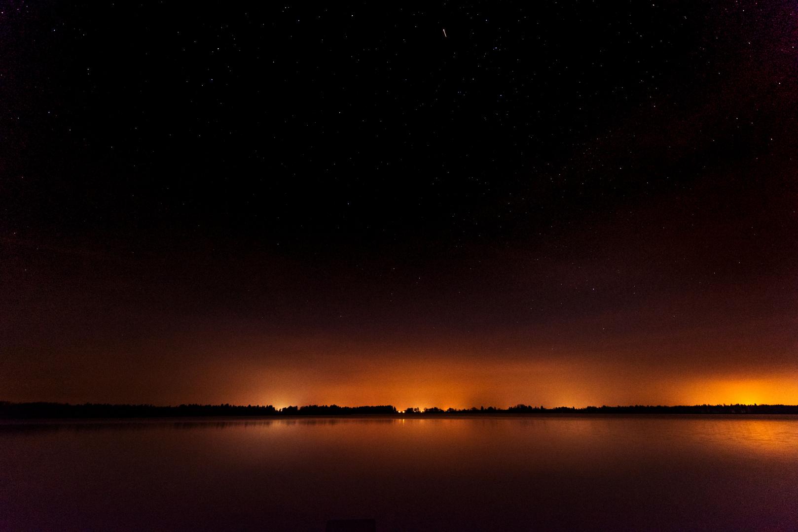 Sterne am Mandicho See