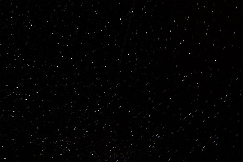 Sterne im Steigerwald