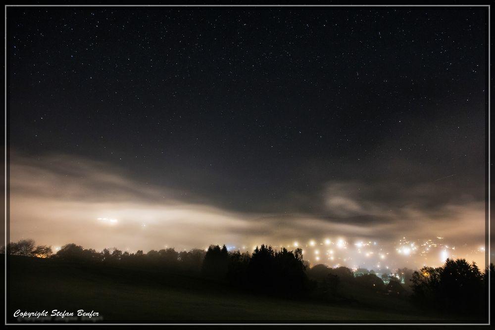 Sterne über Bad Laasphe