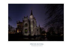 Sterne über Schloss Evenburg