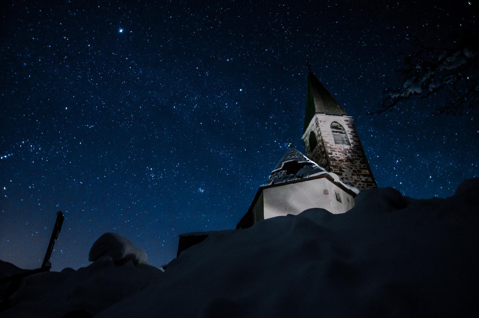Sterne über St. Magdalena