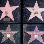 Sterne von Berühmten Menschen in Hollywood im Walk of Fame