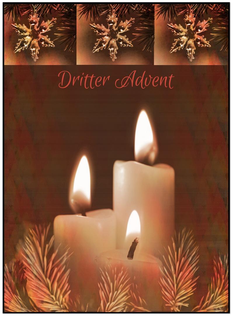 Sterne zum dritten Advent