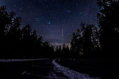 Sternenhimmel gestern im Taunus