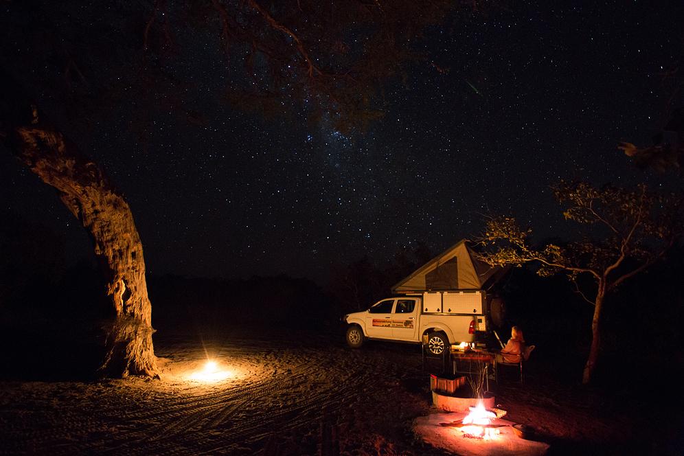 Sternenhimmel über Savuti