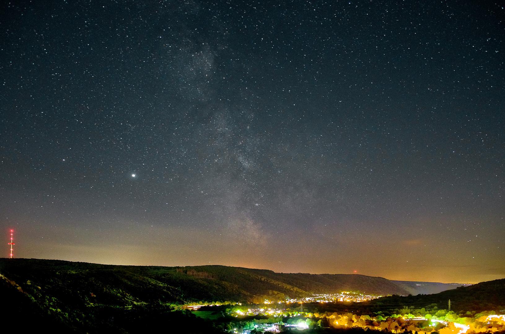 Sternenhimmel Unteres Moseltal