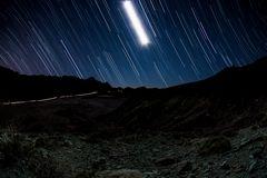 Sternenspuren auf Teneriffa