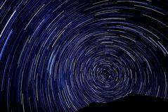 Sternenspuren über Teide