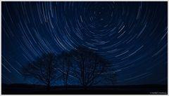 Sternenstrichspuren