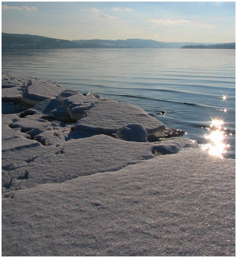 Sternschnuppen auf Eis