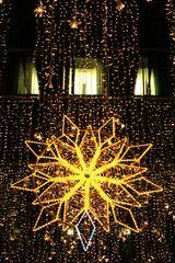 Sternvorhang in der Adventszeit