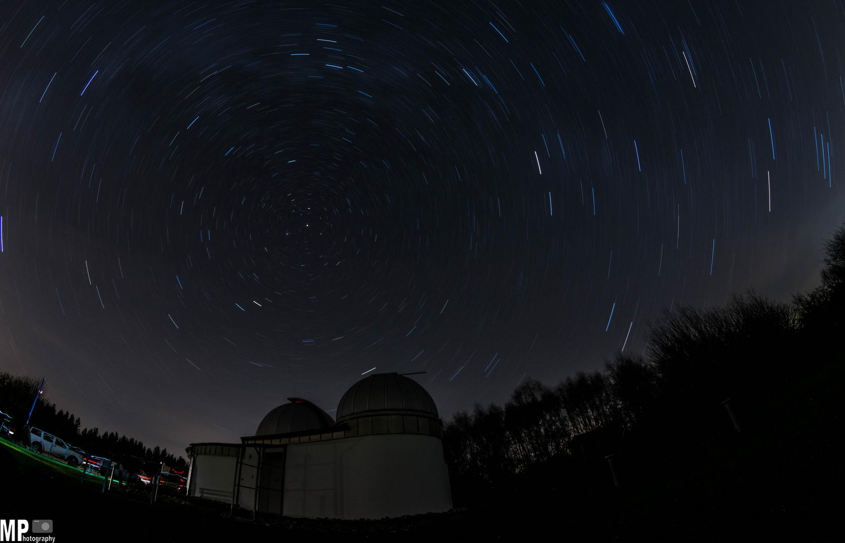 Sternwarte Peterberg und die Sterne