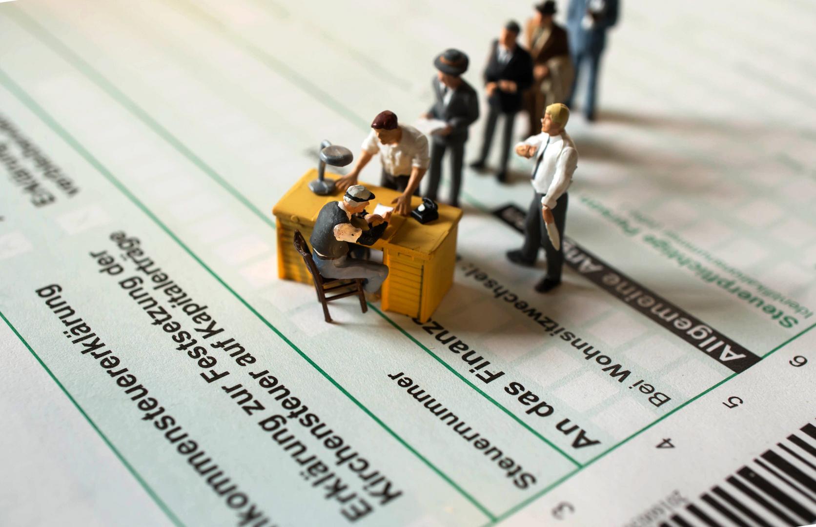 Steuern zahlen
