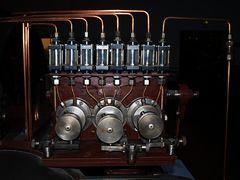 Steuerteil einer Dampfmaschine