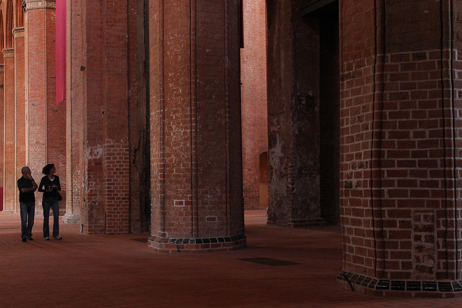 St.Georgen Wismar: Größenverhältnisse
