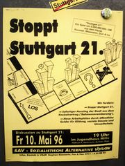 Stgt S21 Plakat 96 K21