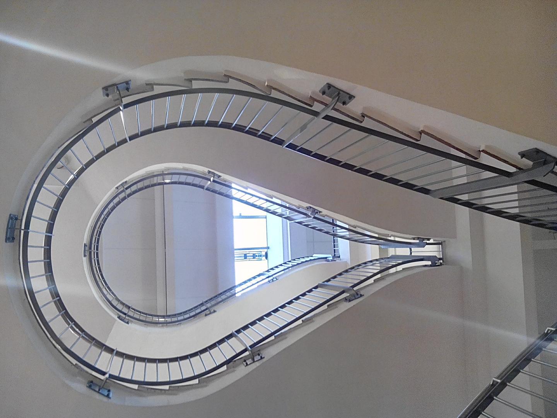 Stiegenhaus, von unten