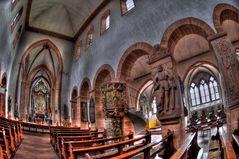 Stiftsbasilika St.Peter und Alexander / Aschaffenburg .