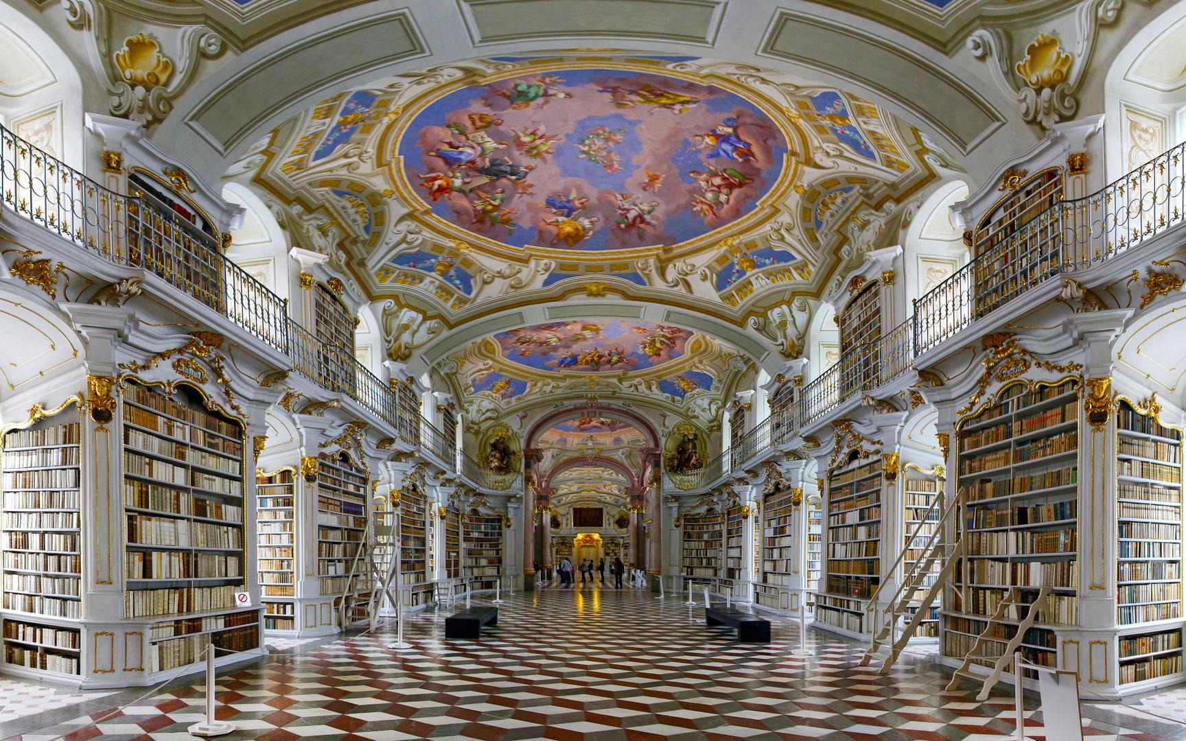 Stiftsbibliothek Admont Steiermark