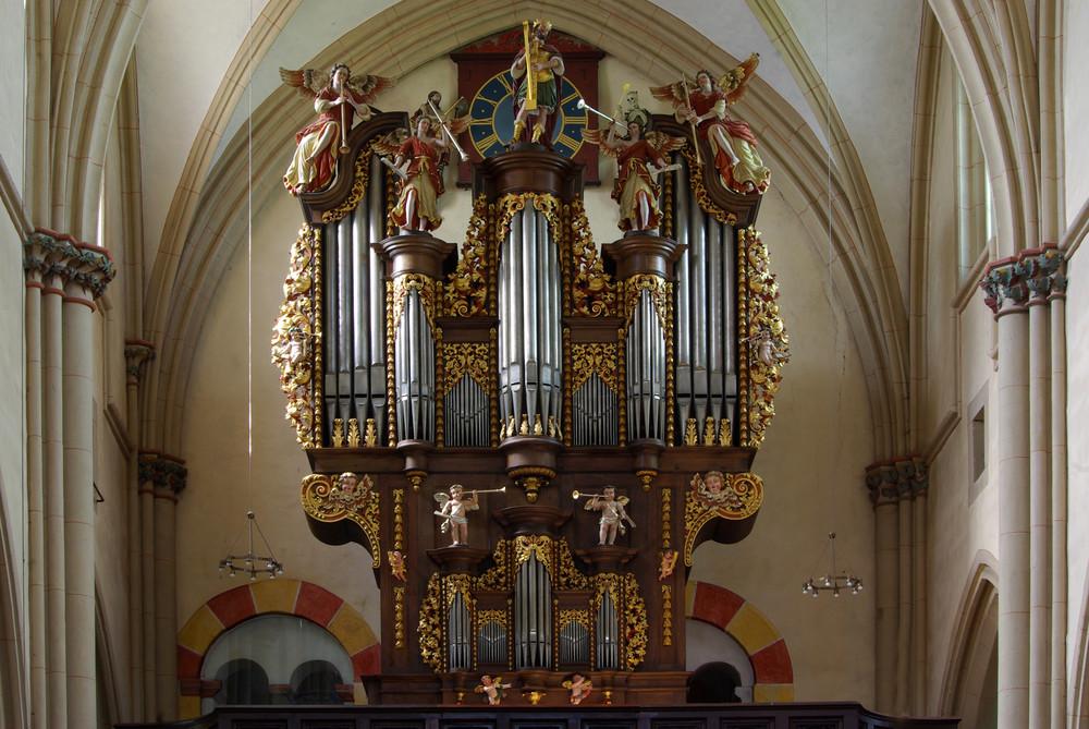 Stiftskirche Münstermaifeld / Vordereifel (Stumm-Orgel)