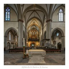 """Stiftskirche St. Martin und St. Severus - Münstermaifeld """" Gott zu Gefallen ... """""""
