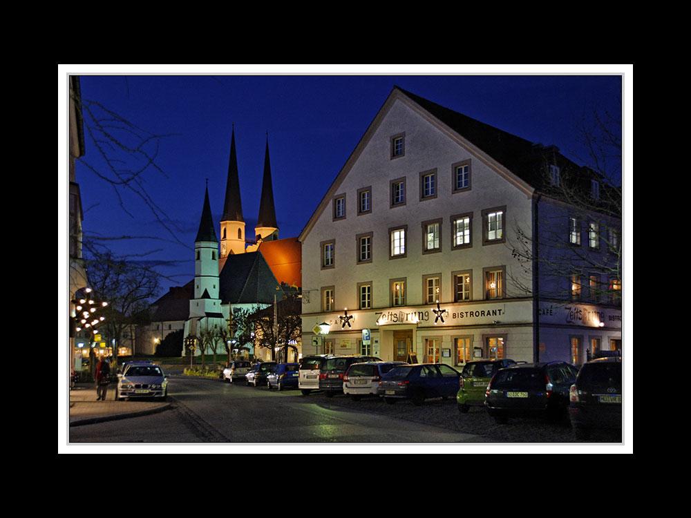 Stiftskirche und Bistro