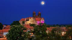 Stiftslirche Quedlinburg zur frühen Stunde