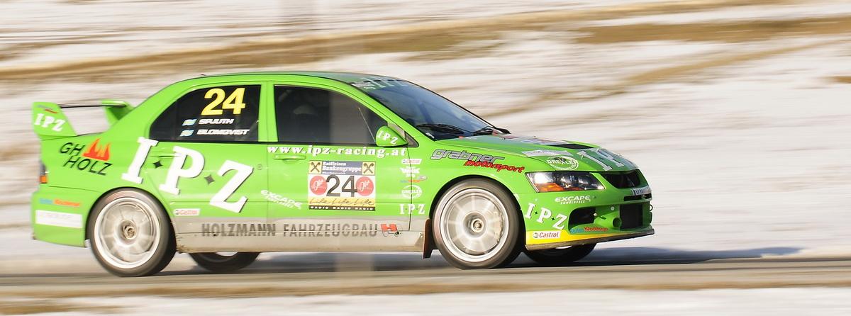 Stig Blomqvist...Rallyurgestein auf der Jännerrally SP6