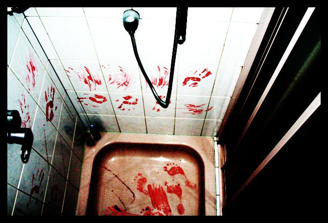 still hands of blood