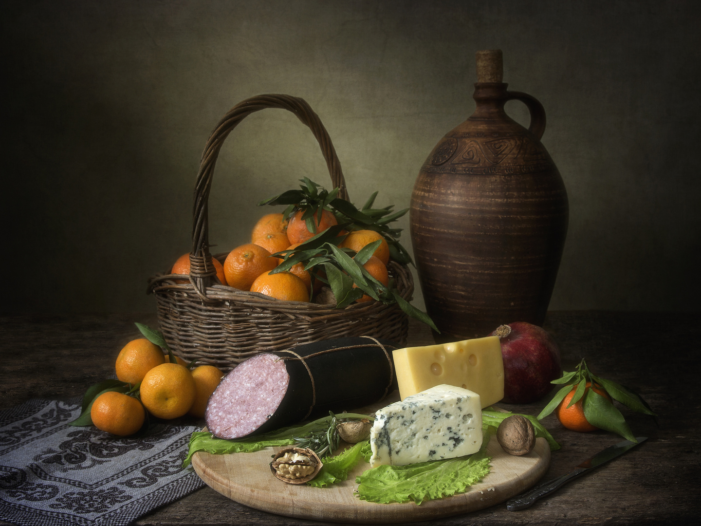 Still Life with Delicacies