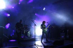 Still Quo (blue stage backlight)