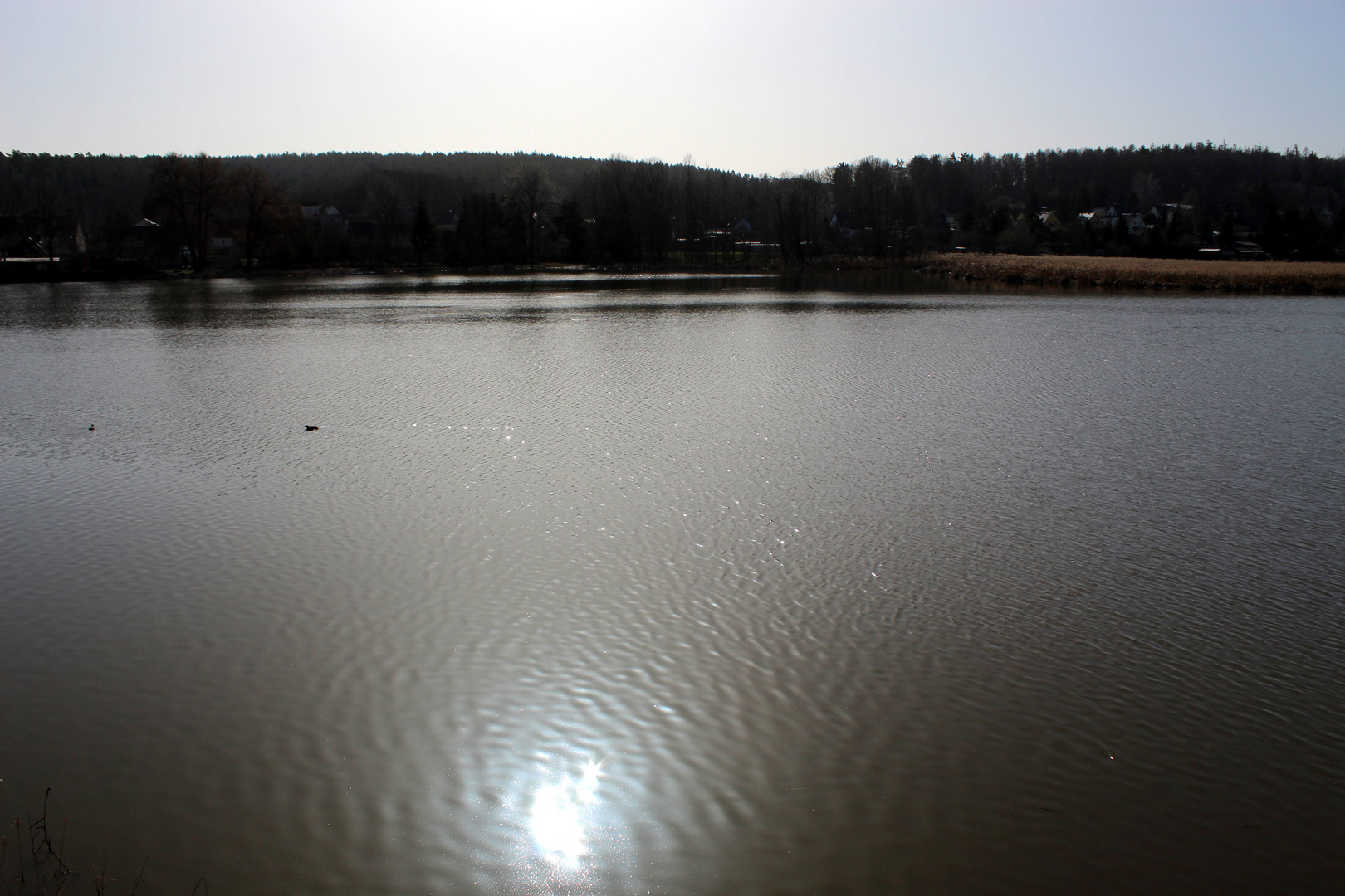 still ruht der See zur Mittagsstunde