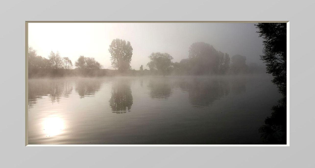Still war´s am Fluß...