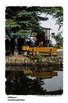 Stille am Kanal in Hüfingen