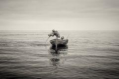 Stille am Meer