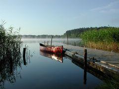 Stille an einem See (Mecklenburg)