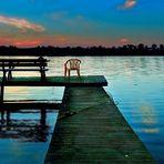 Stille - Blaue Stunde in Masuren ( reloaded für FotoHits Wettbewerb)....