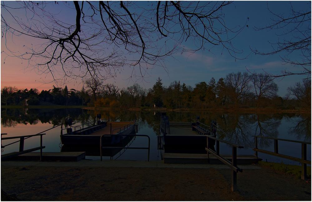 Stille - es ruht der See