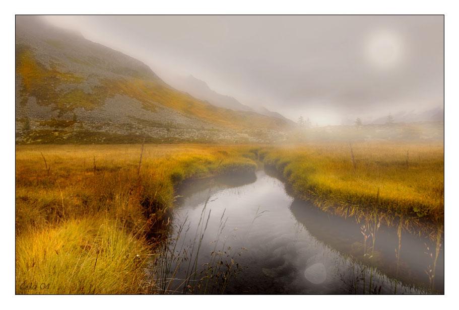 Stille im Nebel