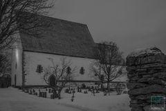 Stille Nacht - Kirche von Trondenes