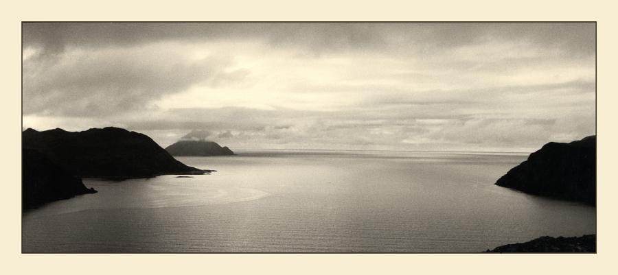 Stille über dem Fjord