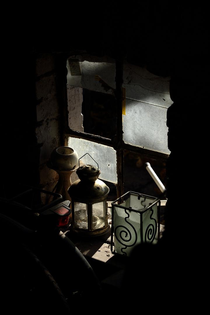 Stilleben an Fenster