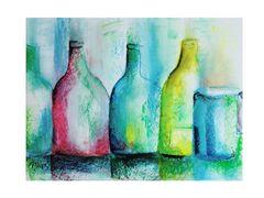 Stilleben Flaschen
