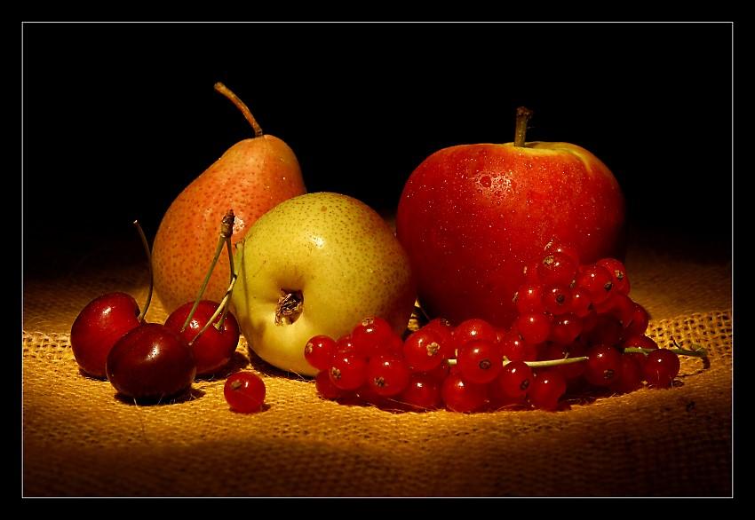 Stilleben mit Früchten Foto & Bild   stillleben, essen & trinken ...