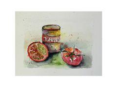 Stilleben Tomate
