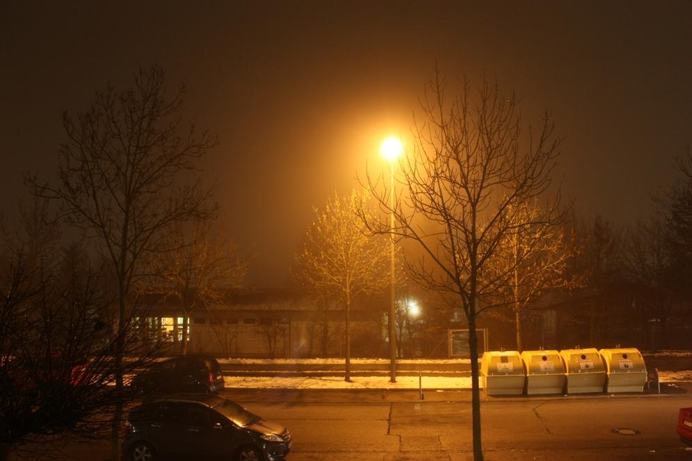 Stillleben an einem Winterabend